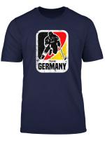 Eishockey Team Germany Tshirt Vintage