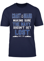 Coast Guard Making Sure The Navy Does T Get Lost Since 1790