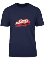 Fast Furious Red Hue Logo T Shirt
