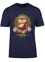 Yoga Faultier T Shirt Meditation Namaste Ommmm