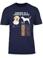 Labrador Retriever Dog Anatomy Mom Grandma Men Women Kids T Shirt