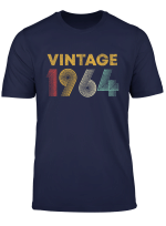 55 Years Old Born In 1964 Vintage 55Th Birthday T Shirt