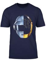 Robot Daft Heads T Shirt Punk Music Feels T Shirt
