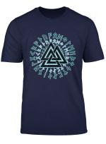Wikinger Symbol Nordische Mythologie Wotansknoten T Shirt