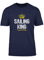 Sailing King Men Boys Sail Funny Cool Gift T Shirt