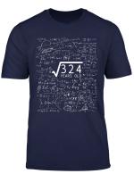 18 Geburtstag T Shirt Wurzel Aus 324 Mathe Nerd Geschenk