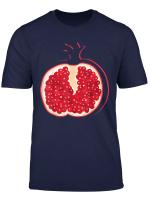 Granatapfel In Scheiben Kostum Nettes Halloween Outfit T Shirt