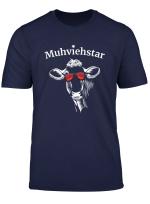 Lustiges Muhviehstar Landwirt Bauer Kuhe T Shirt