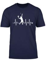 Tennis Heartbeat Funny Tennis Player T Shirt