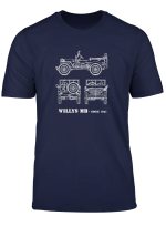 Ww2 Vintage Willys Mb Jeeps T Shirt