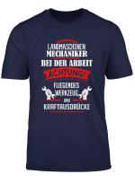 Landmaschinenmechaniker T Shirt Herren Damen Lustig Spruche
