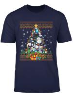 Funny Accountant Christmas Ugly Sweater Christmas Tree Gift T Shirt