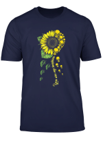You Are My Sunshine Skull And Sunflower Shirt Funny Gift