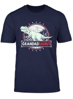 Mens Grandadsaurus T Shirt Grandpa Gifts From Grandchildren