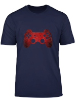 Gamer Vintage Retro Video Game Controller Gift Boys Teens T Shirt