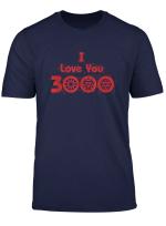 Marvel Avengers Endgame I Love You 3000 Arc Reactors T Shirt