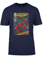 Spider Man Comic Book Anniversary Graphic T Shirt