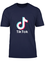 Tok Tik Music Dance Funny Gift For Men Women Tee T Shirt