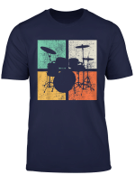 Drummer T Shirt Drumline Tshirt Drumset Tee Gift Vintage