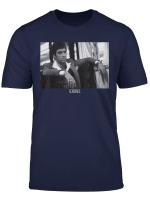 Scarface Tony Montana Sitting Portrait Logo T Shirt