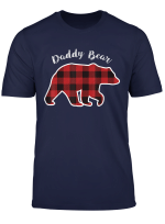Daddy Bear Men Red Plaid Christmas Pajama Family Dad Gift