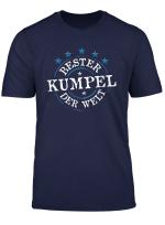 Bester Kumpel Welt Spruche Cool Toll Lustige Freundschaft T Shirt
