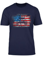 American Flag Of Jeep 4Th Of July T Shirt Jeep Drivers