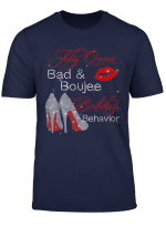 July Queen Bad Boujee Birthday Behavior Funny T Shirt