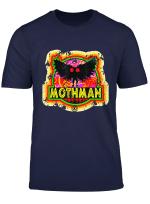 Retro Mothman West Virginia Vintage Monster Distressed Style T Shirt
