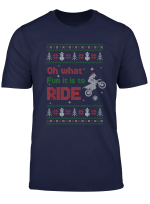 Oh What Fun It Is To Ride Motorcycle Ugly Christmas Sweater T Shirt