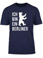 Ich Bin Ein Berliner T Shirt Berliner Bar