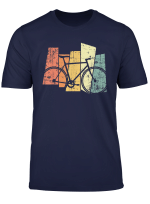 Fahrrad Vintage Rennrad Mountainbike Triathlon Retro T Shirt