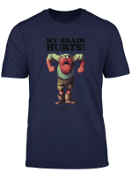 Monty Python Official Gumby My Brain Hurts T Shirt