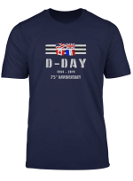 Ww2 D Day 75Th Anniversary Invasion Normandy T Shirt