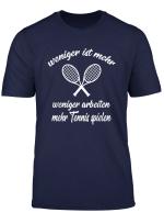 Lustiges Tennis T Shirt