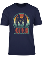 Mothman Point Pleasant Retro Vintage Cryptid T Shirt