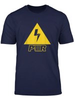 Yellow Charge Power T Shirt