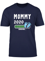 Soon To Be Mommy Mom Mum Ma 2020 Loading Pregnancy Reveal T Shirt