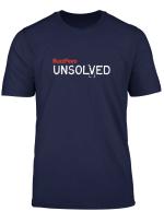 Buzzfeed Unsolved White Logo T Shirt