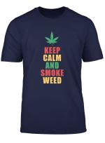 Weed Vintage Retro Hanf Cannabis Marihuana Geschenk T Shirt