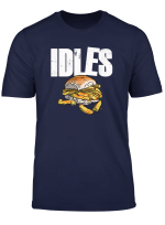 Idles Chip Butty T Shirt By Mcpants Tees Dark Colours