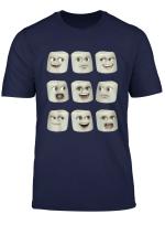 Annoying Orange Funny Marshmallow Emoji T Shirt