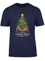 Only A Morning Person December 25Th Christmas Tree Xmas Gift T Shirt
