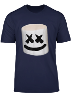 Happy Marshmallow Smores Smiley Face T Shirt