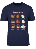 Funny Potter Cats T Shirt For Cat Lovers Gifts