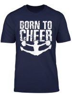 Cheerleading T Shirt Cheering Split Gift Cheer Squad Shirt