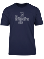 Kryptic Society Periodic Tabletop Dnd Alignment Rpg T Shirt