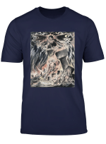 Job S Evil Dreams By William Blake T Shirt