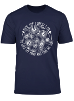 Into The Forest I Go To Lose My Mind Find My Soul Mushroom T Shirt