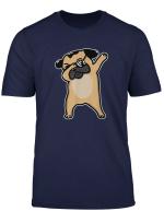 Funny Dabbing Pug Dog Gift T Shirt